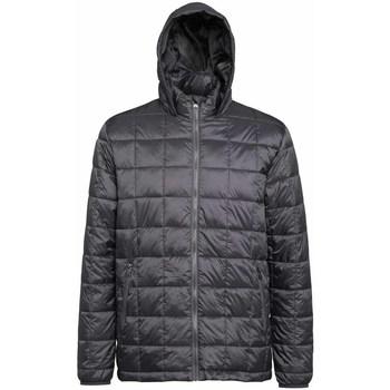 Vêtements Homme Doudounes 2786 Hooded Acier