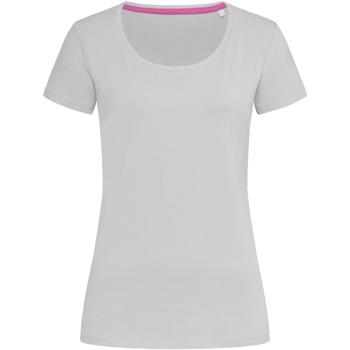 Vêtements Femme T-shirts manches courtes Stedman Stars Claire Gris clair