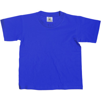Vêtements Enfant T-shirts manches courtes B And C Exact Bleu royal