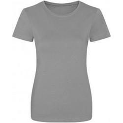 Vêtements Femme T-shirts manches courtes Ecologie Organic Gris clair