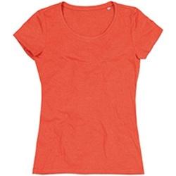 Vêtements Femme T-shirts manches courtes Stedman Stars Lisa Orange chiné