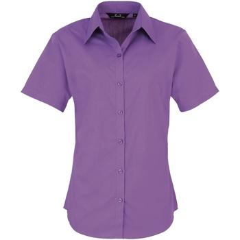 Vêtements Femme Chemises / Chemisiers Premier Poplin Violet