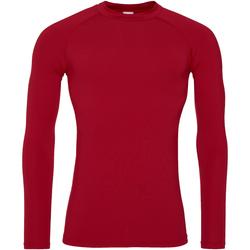 Vêtements Homme T-shirts manches longues Awdis Just Cool Rouge feu