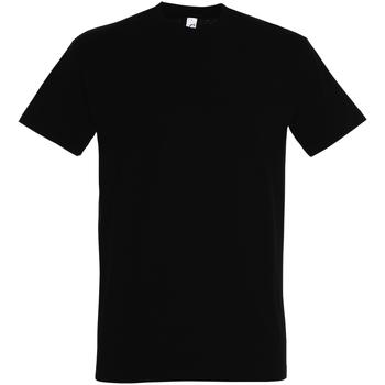 Vêtements Homme T-shirts manches courtes Sols Imperial Noir