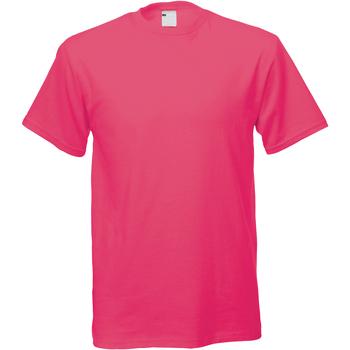 Vêtements Homme T-shirts manches courtes Universal Textiles 61082 Rose