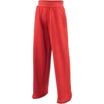 Vêtements Enfant Pantalons de survêtement Awdis JH71J Rouge feu