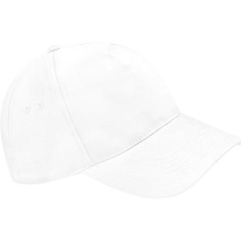 Accessoires textile Casquettes Beechfield Baseball Blanc