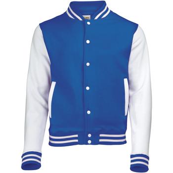 Vêtements Homme Blousons Awdis Varsity Bleu roi/Blanc