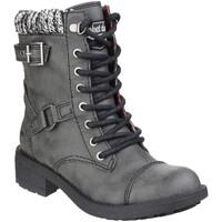 Chaussures Femme Boots Rocket Dog Thunder Noir