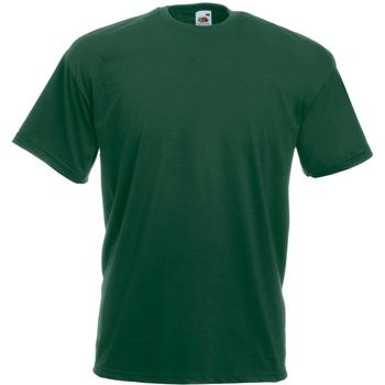 Vêtements Homme T-shirts manches courtes Universal Textiles Casual Vert foncé