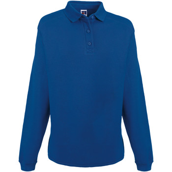 Vêtements Homme Sweats Russell Europe Sweatshirt avec col et boutons RW3275 Bleu roi vif