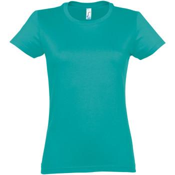 Vêtements Femme T-shirts manches courtes Sols Imperial Bleu vif
