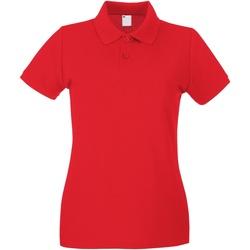 Vêtements Femme Polos manches courtes Universal Textiles Casual Rouge vif
