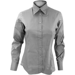 Vêtements Femme Chemises / Chemisiers Kustom Kit Oxford Gris