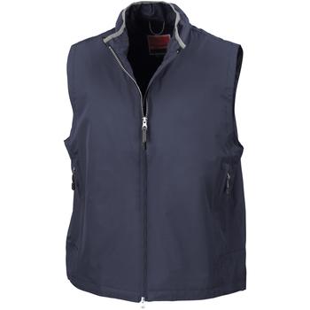 Vêtements Homme Gilets / Cardigans Result Gilet Bleu marine
