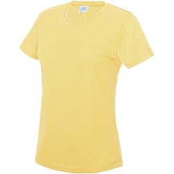 Vêtements Femme T-shirts manches courtes Just Cool JC005 Citron