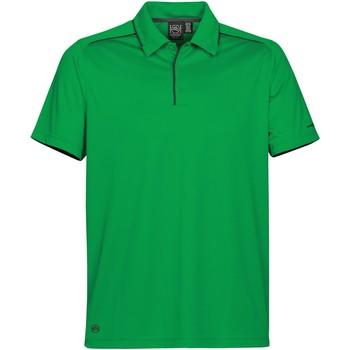 Vêtements Homme Polos manches courtes Stormtech Inertia Vert/ Noir