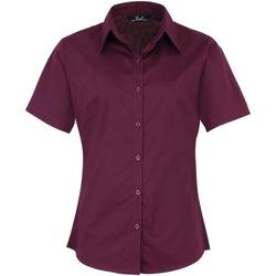 Vêtements Femme Chemises / Chemisiers Premier PR302 Aubergine