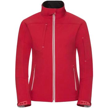 Vêtements Femme Coupes vent Russell Veste softshell BIONIC RW6160 Rouge
