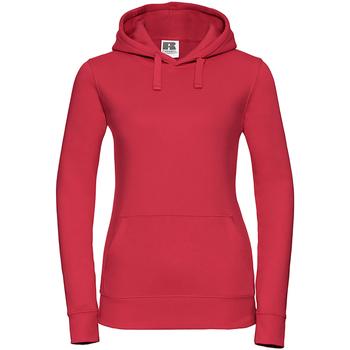 Vêtements Femme Sweats Russell Sweatshirt à capuche BC2730 Rouge