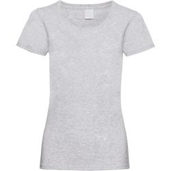 Vêtements Femme T-shirts manches courtes Universal Textiles 61372 Gris marne
