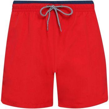Vêtements Homme Shorts / Bermudas Asquith & Fox AQ053 Rouge / Bleu marine