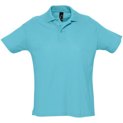 Vêtements Homme Polos manches courtes Sols Summer II Bleu atoll