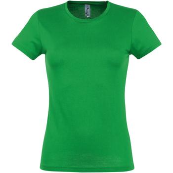 Vêtements Femme T-shirts manches courtes Sols Miss Vert tendre
