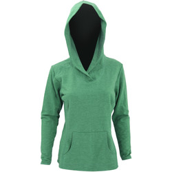 Vêtements Femme Sweats Anvil Hooded Vert chiné