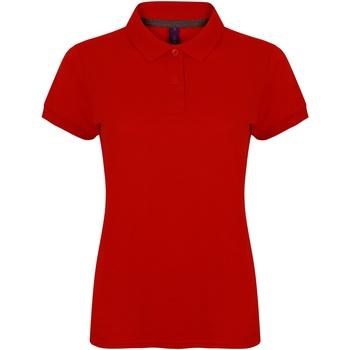 Vêtements Femme Polos manches courtes Henbury HB102 Rouge