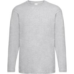 Vêtements Homme T-shirts manches longues Universal Textiles 61038 Gris marne