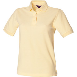 Vêtements Femme Polos manches courtes Henbury HB401 Citron