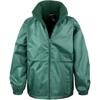 Vêtements Enfant Coupes vent Result R203JY Vert bouteille
