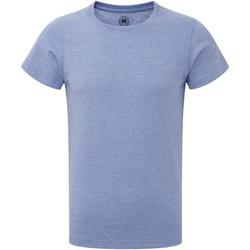 Vêtements Garçon T-shirts manches courtes Russell Tshirt à manches courtes Garçon RW4706 Bleu
