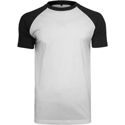 Vêtements Homme T-shirts manches courtes Build Your Brand Contrast Blanc/Noir