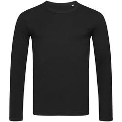 Vêtements Homme T-shirts manches longues Stedman Stars Morgan Noir