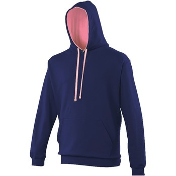 Vêtements Homme Sweats Awdis Hooded Bleu marine / rose clair