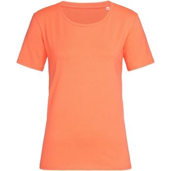 Vêtements Femme T-shirts manches courtes Stedman Stars Saumon