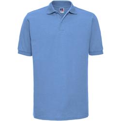 Vêtements Homme Polos manches courtes Russell Polo à manches courtes BC572 Bleu ciel