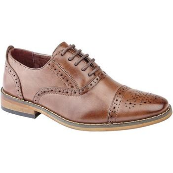 Chaussures Garçon Richelieu Goor Oxford Marron