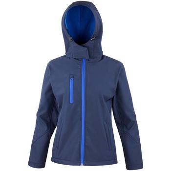 Vêtements Femme Blousons Result R230F Bleu marine/Bleu roi