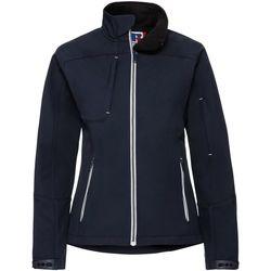 Vêtements Femme Coupes vent Russell Veste softshell BIONIC RW6160 Bleu marine
