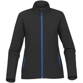 Vêtements Femme Blousons Stormtech Softshell Noir/bleu