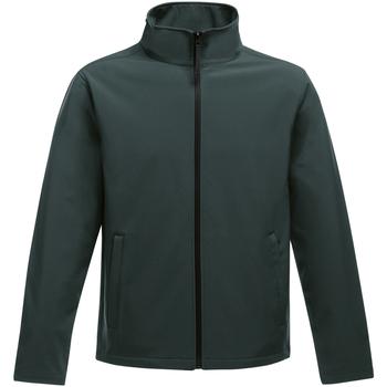 Vêtements Homme Polaires Regatta Softshell vert /noir
