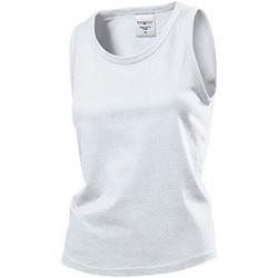Vêtements Femme Débardeurs / T-shirts sans manche Stedman Classics Blanc