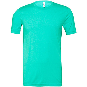 Vêtements Homme T-shirts manches courtes Bella + Canvas Jersey Vert mer chiné