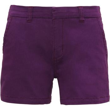 Vêtements Femme Shorts / Bermudas Asquith & Fox Classic Violet