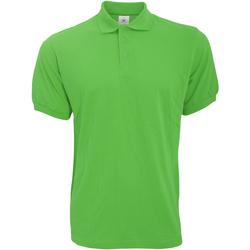 Vêtements Homme Polos manches courtes B And C Safran Vert