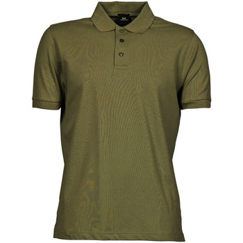 Vêtements Homme Polos manches courtes Tee Jays Stretch Vert olive