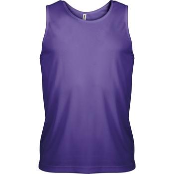 Vêtements Homme Débardeurs / T-shirts sans manche Kariban Proact Proact Violet